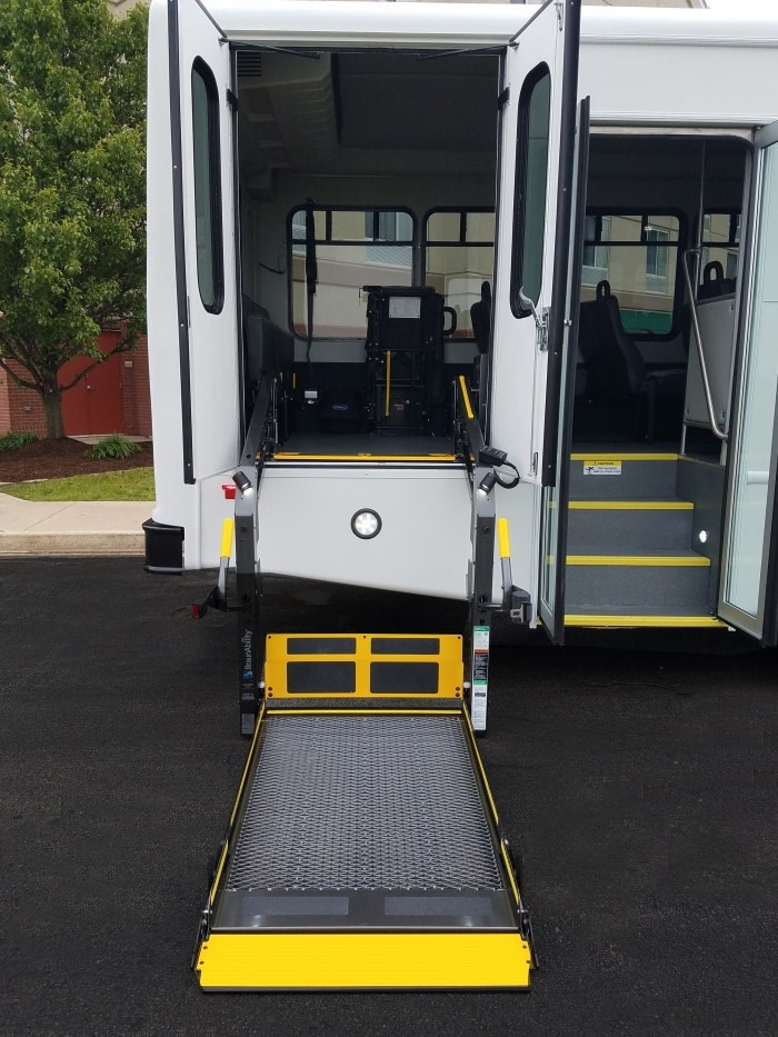 shuttle wheel chair lift